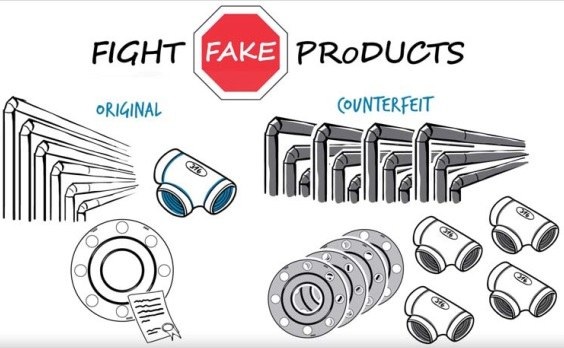 ULMA Piping joins the FIGHT FAKE PRODUCTS initiative