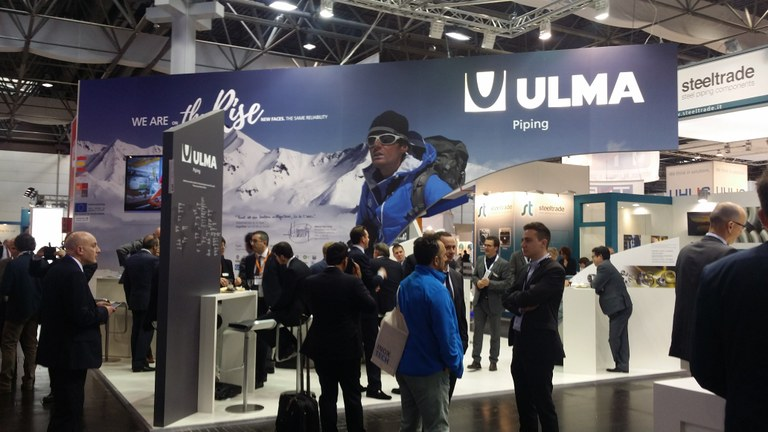 ULMA Piping participation in the TUBE & WIRE 2016 trade show in Düsseldorf