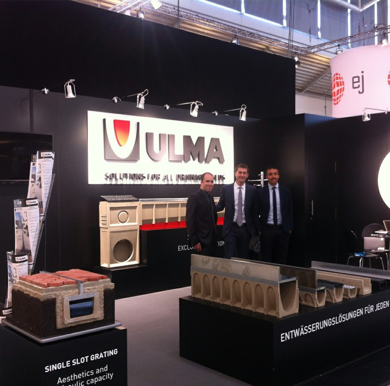 ULMA presents Drainage Solutions at IFAT