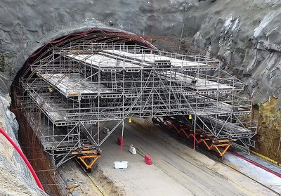 ULMA provided comprehensive solution for the Widest Tunnel on the Iberian Peninsula
