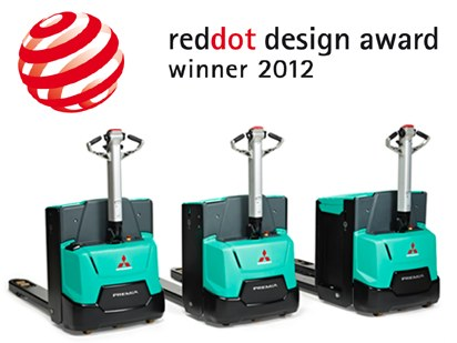 ULMA's new PREMÍA electric pallet truck receives the red dot international design award