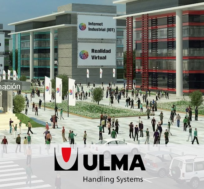ULMA's stand in the 1st Virtual Industrial Innovation Trade Fair 4.0