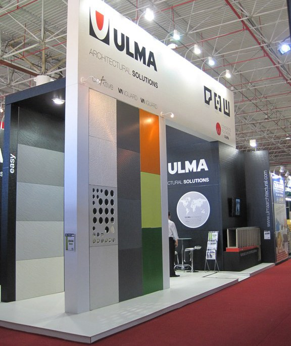 Ventilated Facades and Drainage Systems at the Feicon Show in Brazil