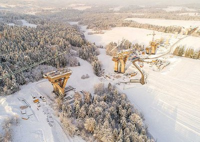 Viaduct 21, ULMA's emblematic construction project in Poland