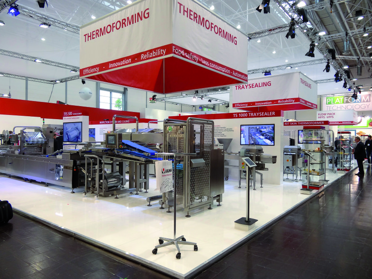 Automation of packaging systems and lines at Interpack with ULMA