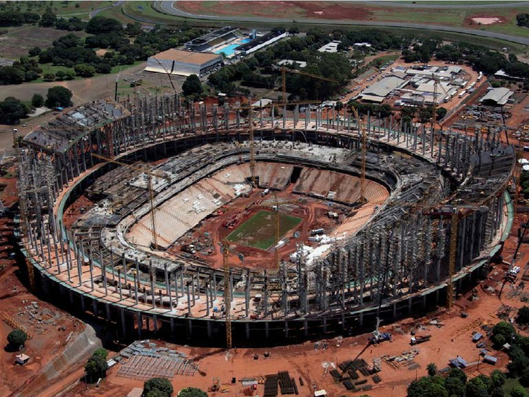 ULMA Construcción provides a new approach to the emblematic football stadium Mané Garrincha