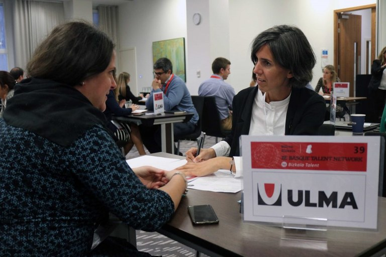 ULMA Taldea Be Basque Talent Conference enplegu foroan