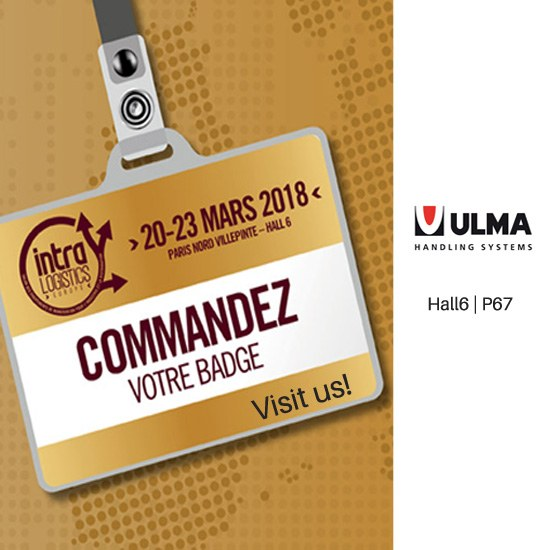 ULMA INTRALOGISTICS EUROPE 2018 azokan egongo da