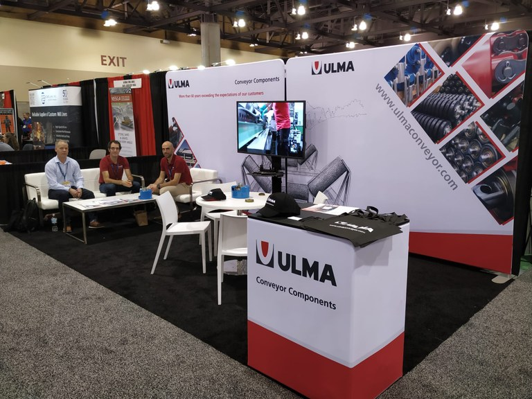 ULMA Conveyor Components at the SME Annual Conference & Expo MineXChange 2020