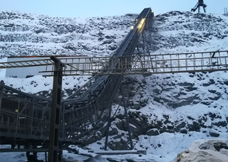 ULMA Conveyor Components visits iron mine in Russia