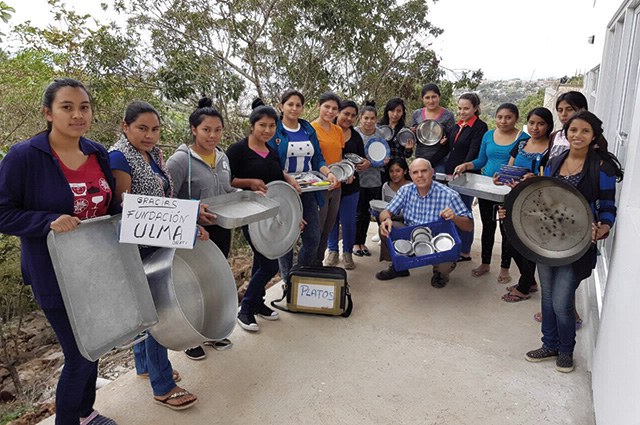 ULMA and Mundukide organised a charity trip to Mexico & We have arrived in Honduras!