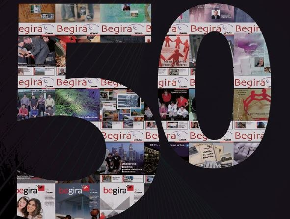 We have reached issue 50 of the begira magazine